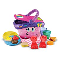 LeapFrog Shapes and Sharing Picnic Basket (Frustration Free Packaging), Pink, Great...
