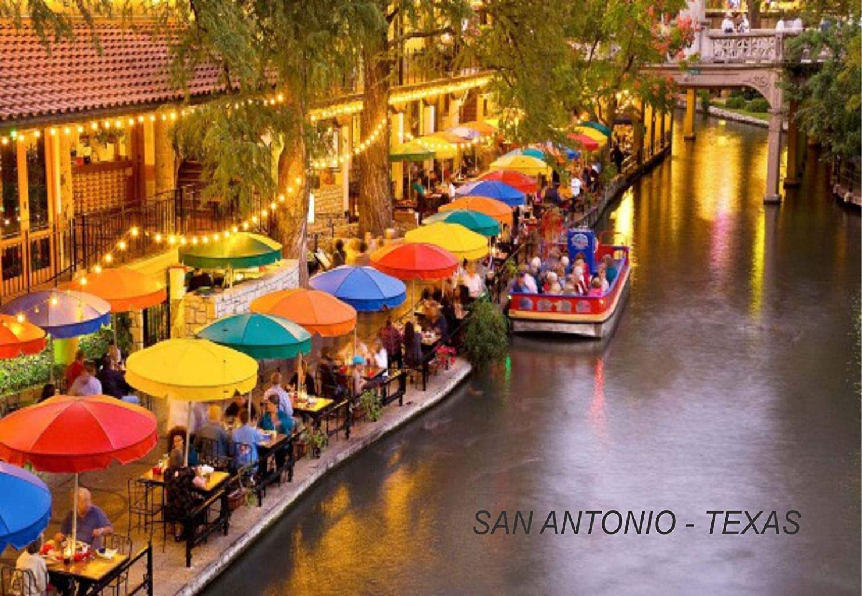 Texas USA United States Fridge Refrigerator Magnets (1 Piece, Style: San Antonio #SA5)