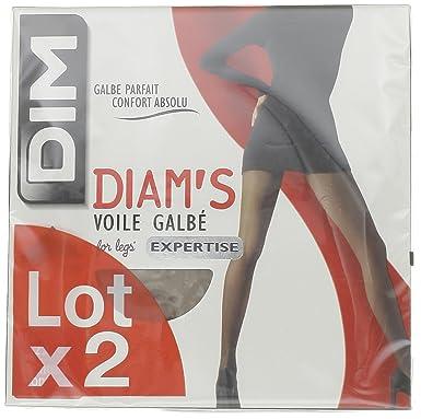 Dim Diam s Voile Galbé - Collants - 15 deniers - Lot de 2 - Femme  Amazon.fr   Vêtements et accessoires 17159562e70