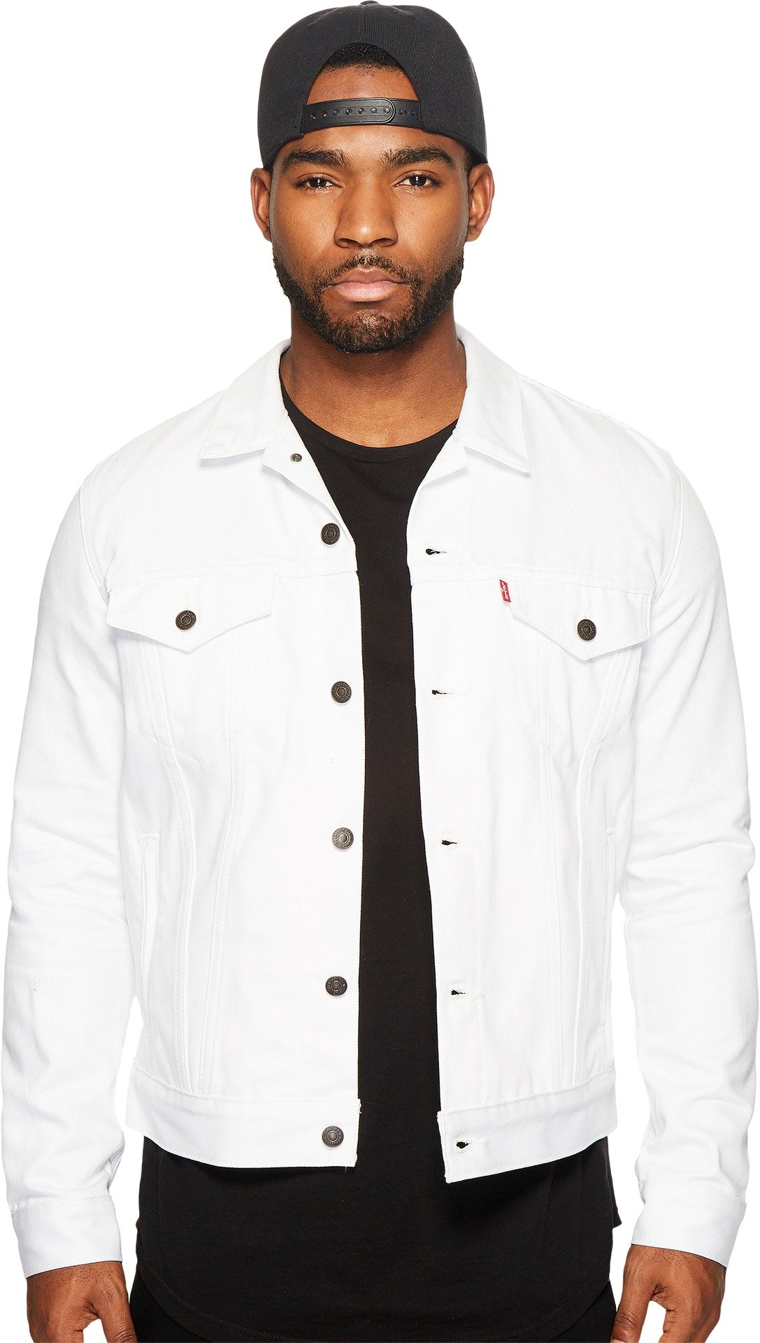 Levi's Men's The Trucker Jacket, White Rigid, S