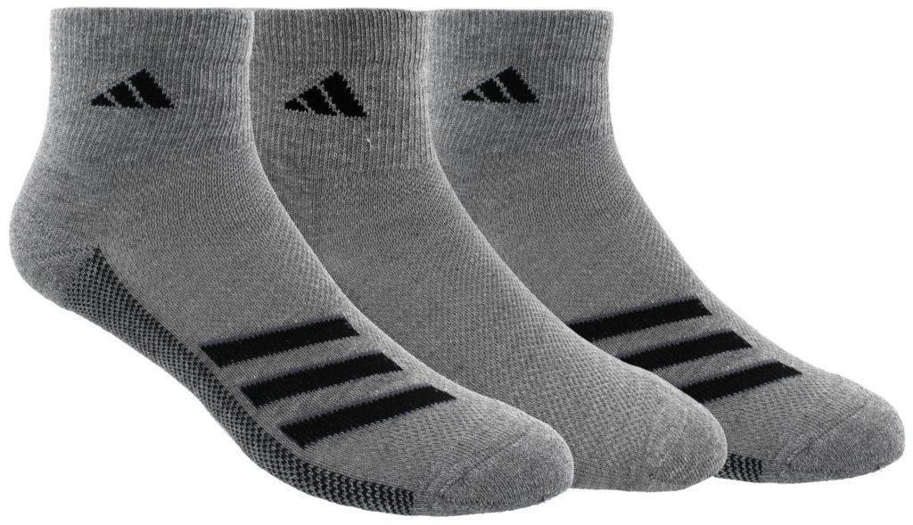 adidas Men's Climacool Superlite Quarter Socks (3-Pack) Agron Socks 976685