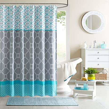 Intelligent Design ID70 198 Clara Shower Curtain 72 X 72quot