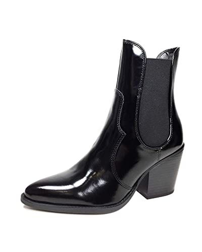 79e943ead51 Amazon.com  Zara Women Mid-Heel Cowboy Ankle Boots 6145 301  Shoes