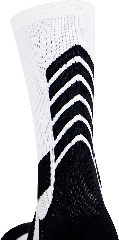 Athletic Sport Socks Elite Compression Crew Socks Basketball Socks