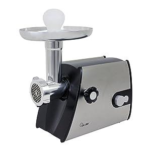Chard FG800SS, 8 Electric Food Grinder, Silver/Black, 400 watts