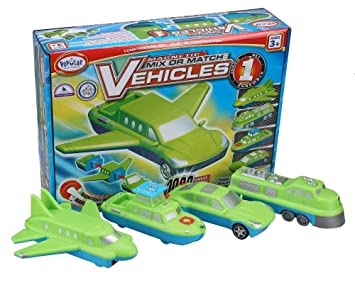 Review Popular Playthings Mix or Match Vehicle