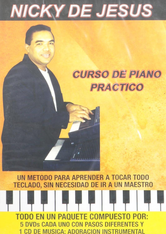 Nicky De Jesus - Curso De Piano Practico 6 Dvd Edizione ...