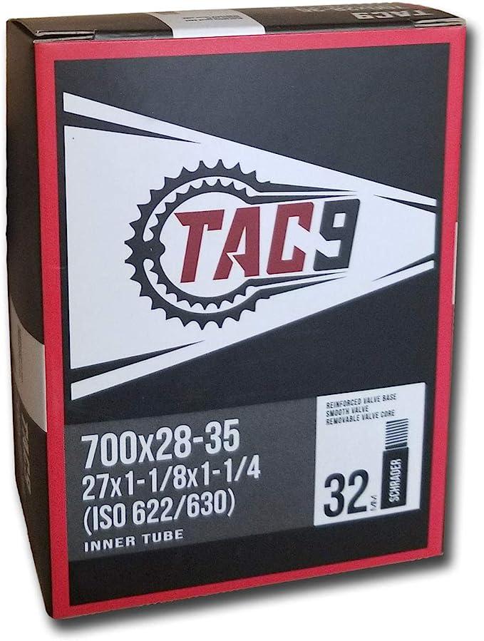 700 X 35 to 42 C IRC Torque Bicycle Tube Schrader
