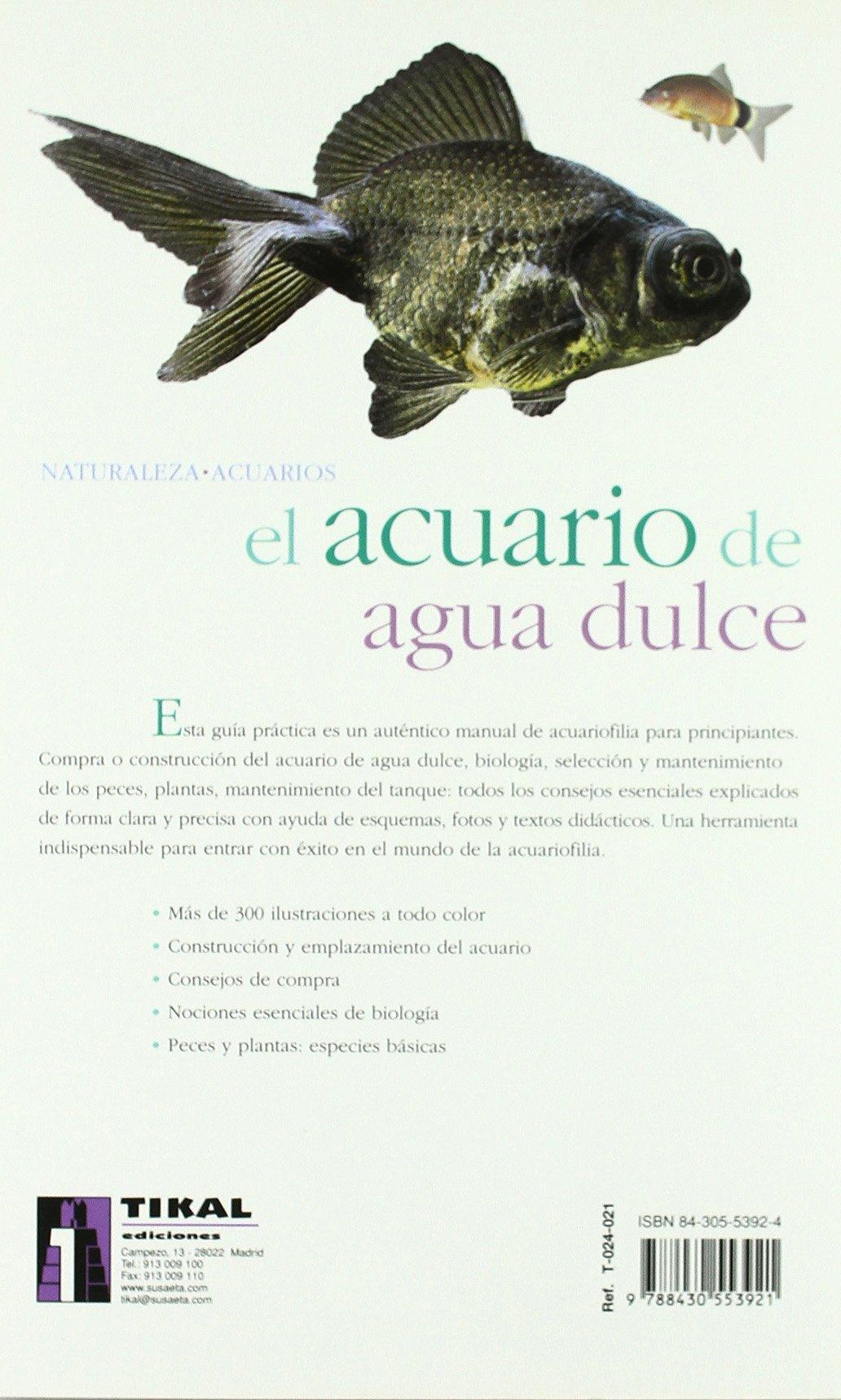 Acuario De Agua Dulce(Naturaleza-Acuarios): Amazon.es: Losange, Herminia Bevia Villalba, Antonio Resines: Libros