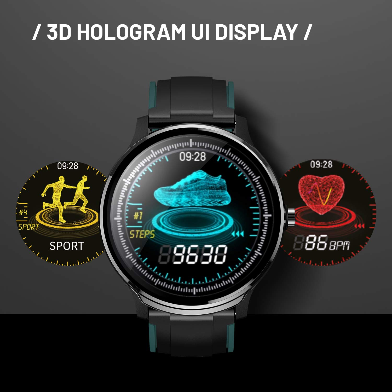 Full Features in Detail for CrossBeats Ace Smart Watch 2020