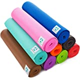 Yogamatte »Annapurna Comfort« - sehr rutschfest aus ECO-PVC hergestellt - die Matte Dank der rutschfesten Oberflächenstruktur angenehm bei Hautkontakt - zusätzlich ist die Matte rutschfest, strapazierfähig & langlebig. Maße: 183 x 61 x 0,5 cm - die ideale Unterlage für Yoga & Pilates