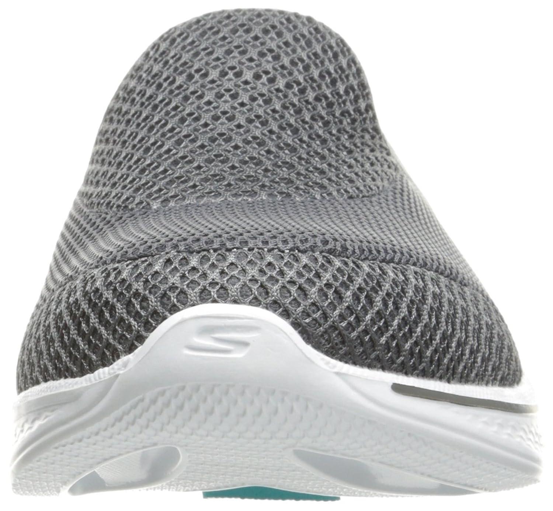 Skechers Go Walk 4-Propel, Zapatillas sin Cordones para Mujer, Gris (Charcoal Charcoal), 37.5 EU