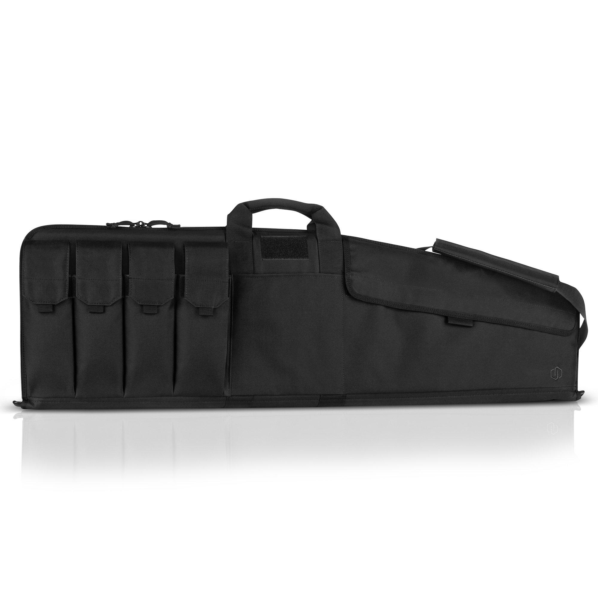 Savior Equipment The Patriot 42'' Single Rifle Gun Tactical Bag - Obsidian Black by Savior Equipment