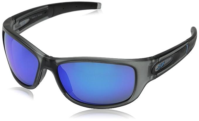 Julbo sunglasses J 459 Stony 1121 Acetate plastic Matt Grey Grey green with  Petrol mirror effect 971d8f1c36c