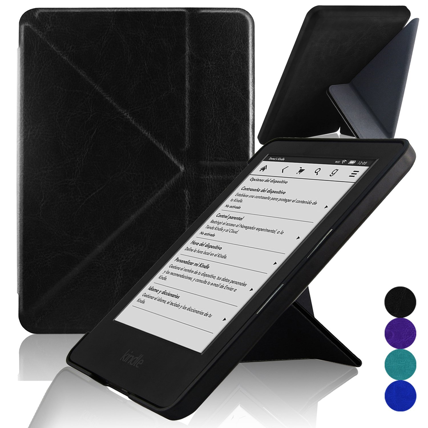 ACdream Kindle 7th Generation [Origami] Case, Ultra Slim Premium PU Leather Cover Case for Kindle, 6 Glare-Free Touchscreen Display (7th generation, ...