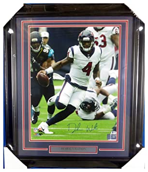 Deshaun Watson Autographed Signed Framed 16x20 Photo Houston Texans - Beckett  Authentic efe68fdb7