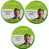 Super Sector Super Styling Hair Wax Matte 150ml (3 Pcs Offer)