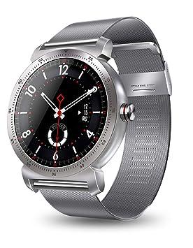 RanGuo Reloj Inteligente para Hombres Mujeres y niños, Deportes al Aire Libre Impermeable Smart Watch