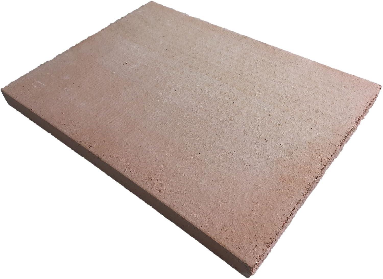Piedra para pizza y pan, de chamota natural – Fabricado en Alemania.