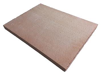 Piedra para pizza y pan, de chamota natural - Fabricado en ...