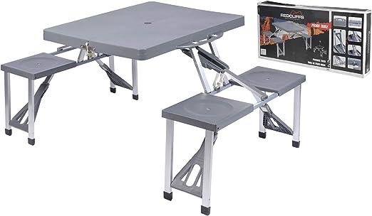 Tavolo Da Campeggio Con Sedie.Oem 047625 Tavolino Portatile E Pieghevole Per Picnic O