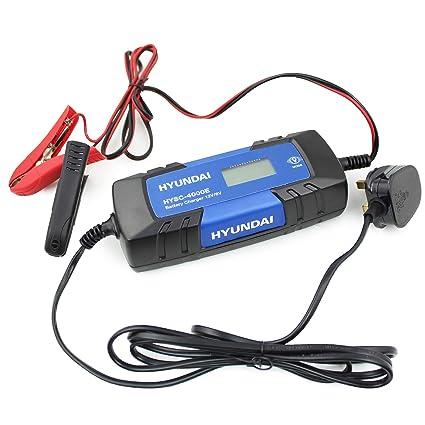 Hyundai HYSC-4000E Cargador de batería Inteligente de 4 ...
