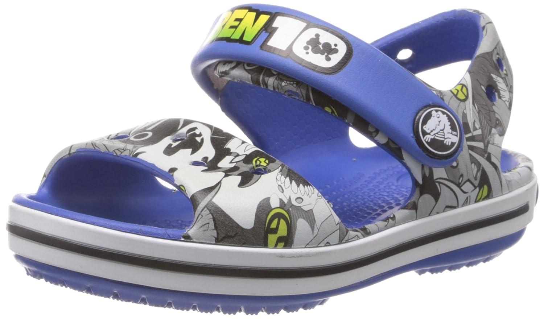 c5f45ab8ec72 Crocs Boy s Crocband Ben 10 Sea Blue Sandals - C10  Buy Online at Low  Prices in India - Amazon.in