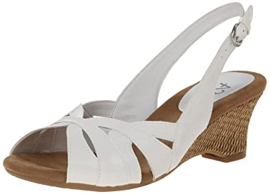 A2 by Aerosoles Women's Zenchilada Wedge Sandal,White,9 ...
