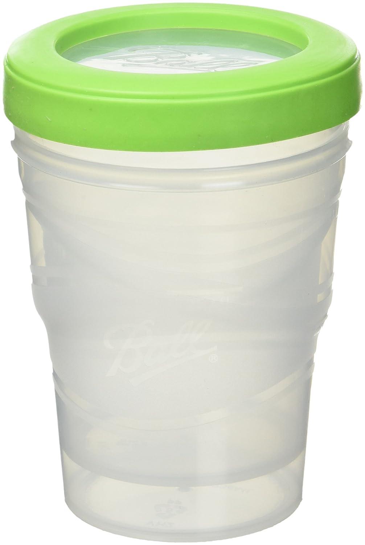 Ball Jar 8-Ounce Plastic Freezer Jar - 3 pack