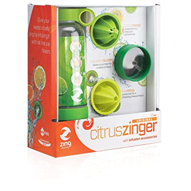 Zing Anything Citrus Zinger Reusable Water Bottle, 28 oz