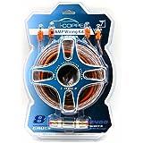 MotoRogue I-Copper 8 Gauge Car Amplifier Wiring Kit i-08E3