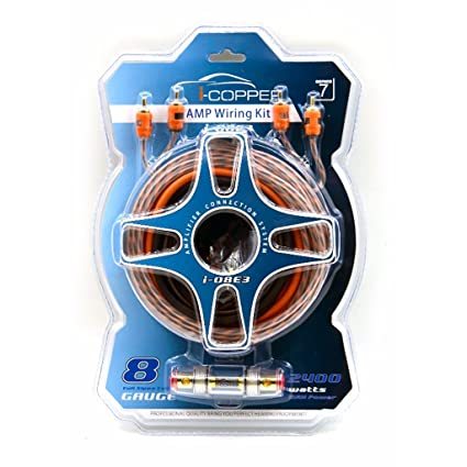 buy i-copper motorogue 8 gauge car amplifier wiring kit online at low  prices in india - amazon in