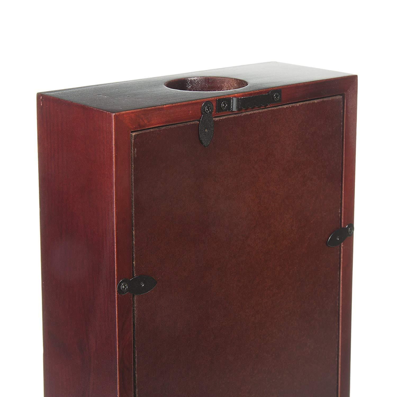 Amazon.com: Vino corcho caja de sombra – capacidad para más ...