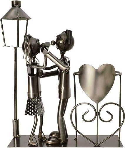 matrimonio Lanterna per bottiglia di vino ito electronics per bottiglie di vino coppia di danza regalo a forma di cuore
