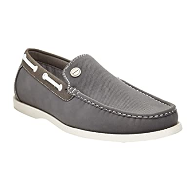 Marco Vitale Men's Slip-on Penny Loafer Moccasin Boat Shoe | Loafers & Slip-Ons