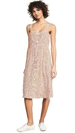 651987781dac Capulet Women's Sunny Midi Dress, Tangerine Floral, Small at Amazon ...