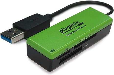 Amazon.com: Lector de tarjetas de memoria flash Plugable USB ...