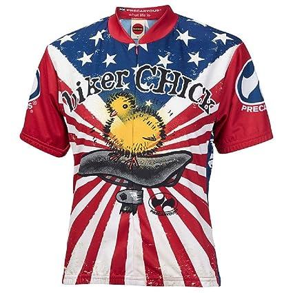 Amazon.com   Biker Chick Women s Premium Cycling Jerseys - Multiple ... e67ec599b