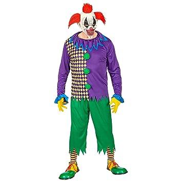 WIDMANN-Evil Joker - Disfraz para hombre, multicolor, (S), 01961 ...