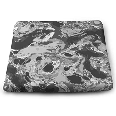 Tinmun Square Cushion, Marbled Marble Pattern Stone Abstract Large Pouf Floor Pillow Cushion for Home Decor Garden Party: Home & Kitchen