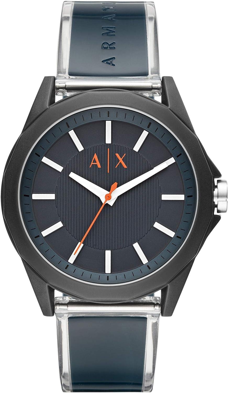 Armani Exchange Reloj para Hombre, de Cuarzo