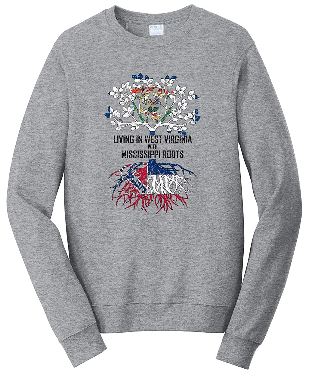 Tenacitee Babys Living in Virginia Mississippi Roots Shirt