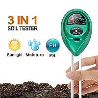 iPowerLGTESTSOIL 3 in 1 Soil Meter