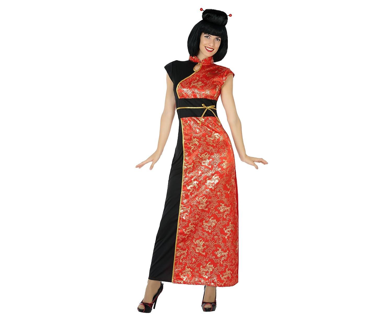 XL Color Rojo Atosa-17352 Disfraz China 17352