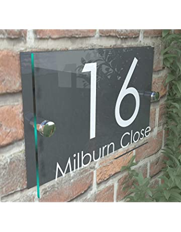 Address Numbers and Plaques: Amazon co uk