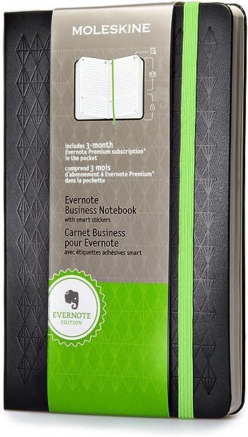 Moleskine Evernote Business Notebook With Smart Stickers Moleskine Amazon De Bürobedarf Schreibwaren