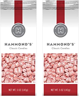 product image for Hammond's Peppermint Pillows 2- 5 Ounce Bags. Christmas Peppermint Pillows are Great for Holiday Events, Stocking Stuffers, Present Toppers and Holiday Office Party Gifts. Handcrafted USA.