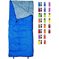 $22 » REVALCAMP Sleeping Bag Indoor & Outdoor Use. Great for Kids, Boys, Girls, Teens & Adults.…