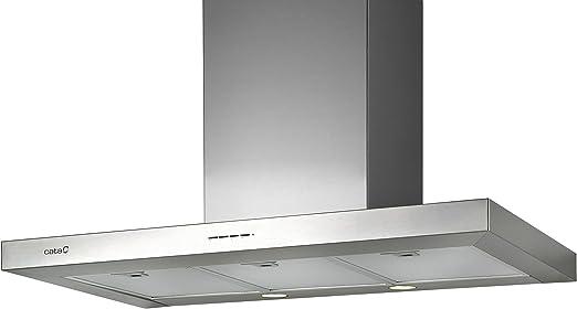 CATA SYGMA 1200 De techo Acero inoxidable 780m³/h C - Campana (780 m³/h, Canalizado, C, A, B, 65 dB): 295.66: Amazon.es: Hogar