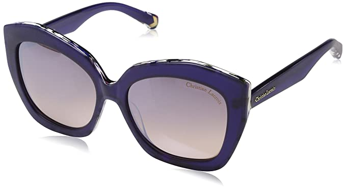 Womens CL5070 Sunglasses, Nuage, 55 Christian Lacroix